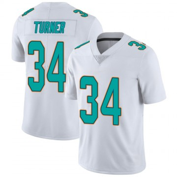 Youth Nike Miami Dolphins De'Lance Turner White limited Vapor Untouchable Jersey -