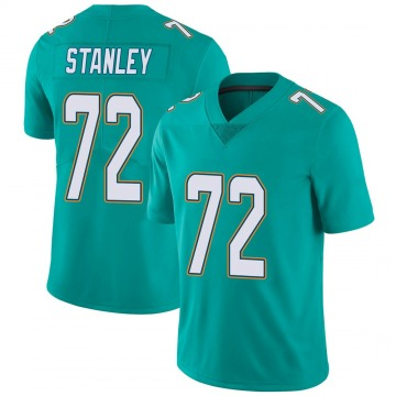 Youth Nike Miami Dolphins Donell Stanley Aqua Team Color Vapor Untouchable Jersey - Limited