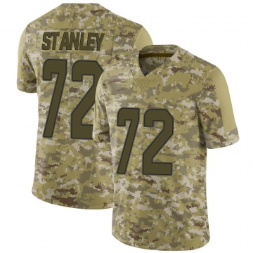 Youth Nike Miami Dolphins Donell Stanley Camo 2018 Salute to Service Jersey - Limited