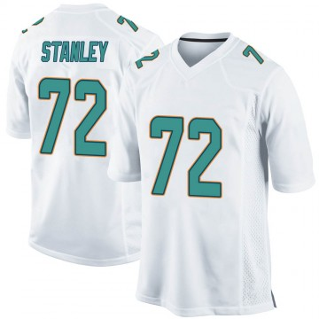 Youth Nike Miami Dolphins Donell Stanley White Jersey - Game
