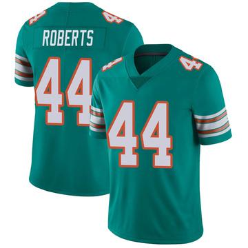 Youth Nike Miami Dolphins Elandon Roberts Aqua Alternate Vapor Untouchable Jersey - Limited