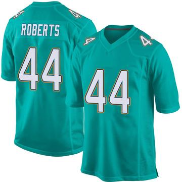 Youth Nike Miami Dolphins Elandon Roberts Aqua Team Color Jersey - Game