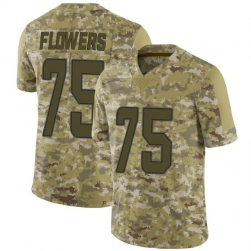 Youth Nike Miami Dolphins Ereck Flowers Camo 2018 Salute to Service Jersey - Limited