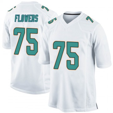 Youth Nike Miami Dolphins Ereck Flowers White Jersey - Game