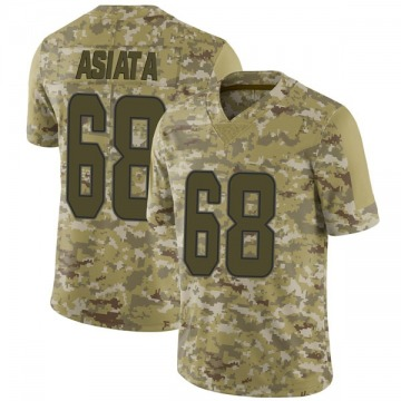 Youth Nike Miami Dolphins Isaac Asiata Camo 2018 Salute to Service Jersey - Limited