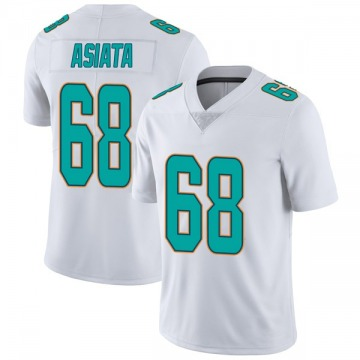 Youth Nike Miami Dolphins Isaac Asiata White limited Vapor Untouchable Jersey -
