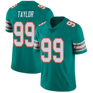 Youth Nike Miami Dolphins Jason Taylor Aqua Alternate Vapor Untouchable Jersey - Limited