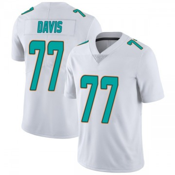 Youth Nike Miami Dolphins Jesse Davis White limited Vapor Untouchable Jersey -
