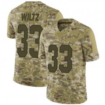 Youth Nike Miami Dolphins Jomal Wiltz Camo 2018 Salute to Service Jersey - Limited