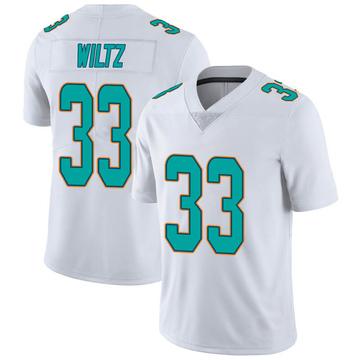 Youth Nike Miami Dolphins Jomal Wiltz White limited Vapor Untouchable Jersey -