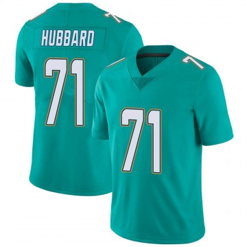 Youth Nike Miami Dolphins Jonathan Hubbard Aqua Team Color Vapor Untouchable Jersey - Limited