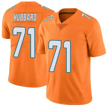 Youth Nike Miami Dolphins Jonathan Hubbard Orange Color Rush Jersey - Limited