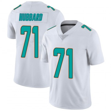 Youth Nike Miami Dolphins Jonathan Hubbard White limited Vapor Untouchable Jersey -