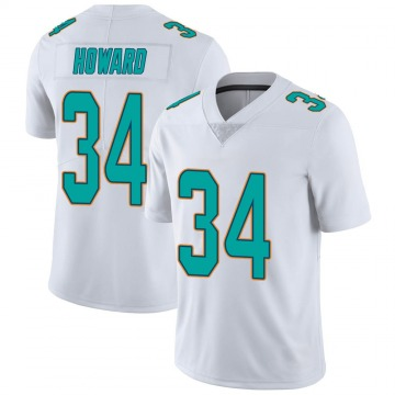 Youth Nike Miami Dolphins Jordan Howard White limited Vapor Untouchable Jersey -