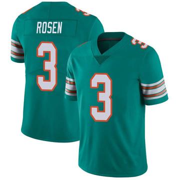 Youth Nike Miami Dolphins Josh Rosen Aqua Alternate Vapor Untouchable Jersey - Limited