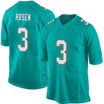 Youth Nike Miami Dolphins Josh Rosen Aqua Team Color Jersey - Game