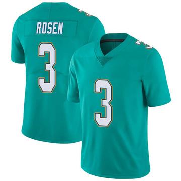 Youth Nike Miami Dolphins Josh Rosen Aqua Team Color Vapor Untouchable Jersey - Limited