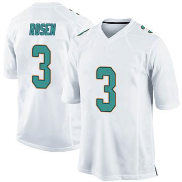 Youth Nike Miami Dolphins Josh Rosen White Jersey - Game