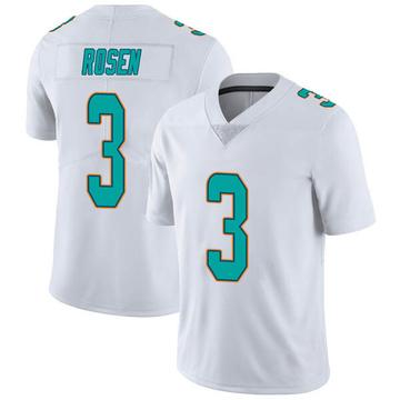 Youth Nike Miami Dolphins Josh Rosen White limited Vapor Untouchable Jersey -