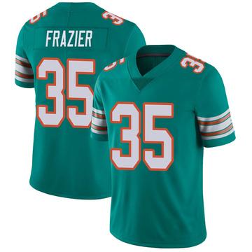 Youth Nike Miami Dolphins Kavon Frazier Aqua Alternate Vapor Untouchable Jersey - Limited