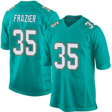Youth Nike Miami Dolphins Kavon Frazier Aqua Team Color Jersey - Game
