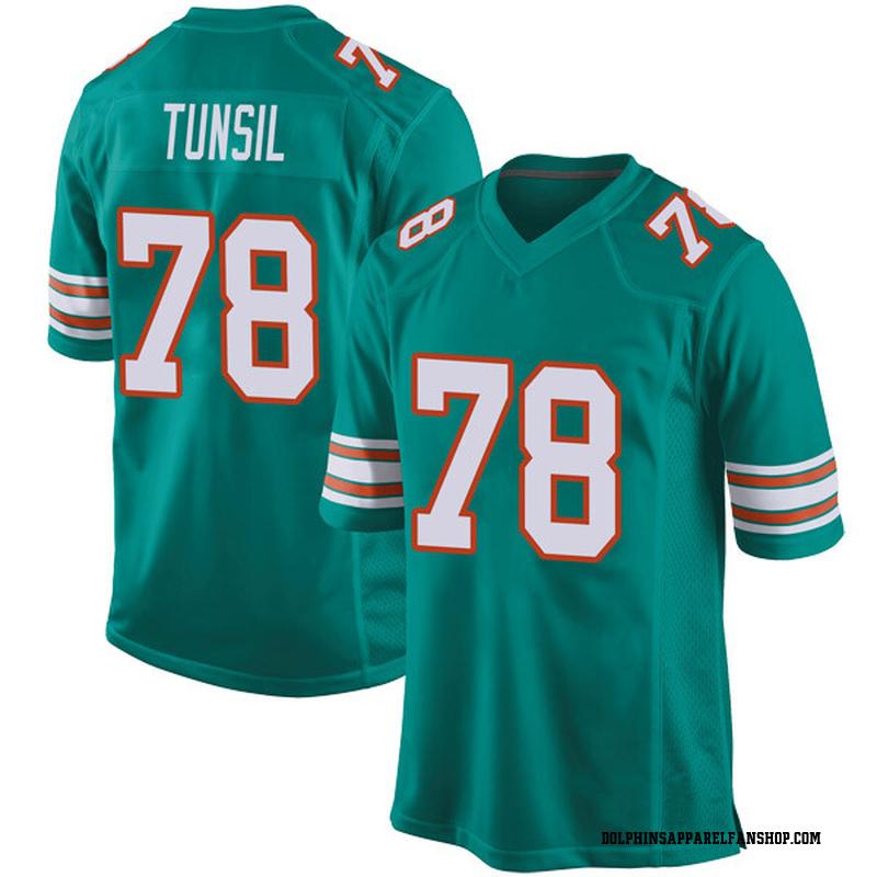 best cheap b4dd4 ae013 Youth Nike Miami Dolphins Laremy Tunsil Aqua Alternate Jersey - Game