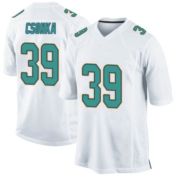 Youth Nike Miami Dolphins Larry Csonka White Jersey - Game