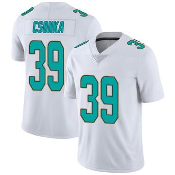 Youth Nike Miami Dolphins Larry Csonka White limited Vapor Untouchable Jersey -
