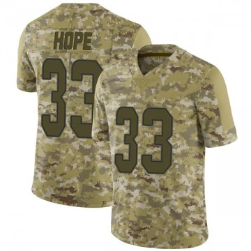 Youth Nike Miami Dolphins Larry Hope Camo 2018 Salute to Service Jersey - Limited