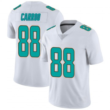 Youth Nike Miami Dolphins Leonte Carroo White limited Vapor Untouchable Jersey -