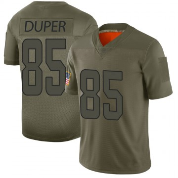 Youth Nike Miami Dolphins Mark Duper Camo 2019 Salute to Service Jersey - Limited