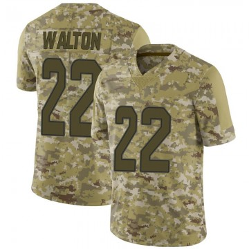 Youth Nike Miami Dolphins Mark Walton Camo 2018 Salute to Service Jersey - Limited