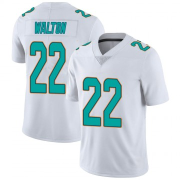 Youth Nike Miami Dolphins Mark Walton White limited Vapor Untouchable Jersey -