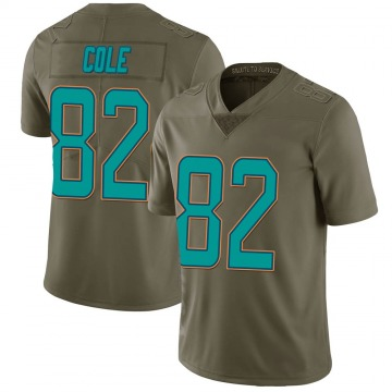 Youth Nike Miami Dolphins Matthew Cole Green 2017 Salute to Service Jersey - Limited