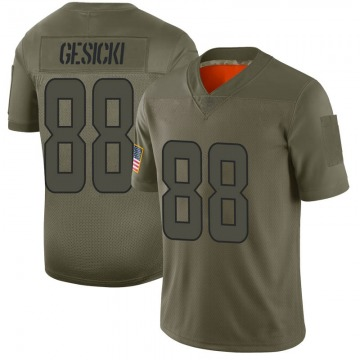 Youth Nike Miami Dolphins Mike Gesicki Camo 2019 Salute to Service Jersey - Limited