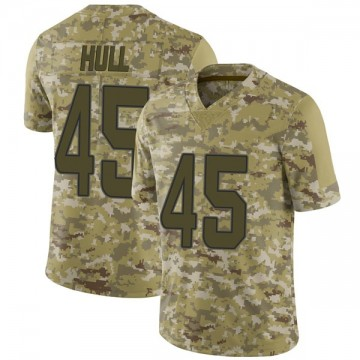 Youth Nike Miami Dolphins Mike Hull Camo 2018 Salute to Service Jersey - Limited