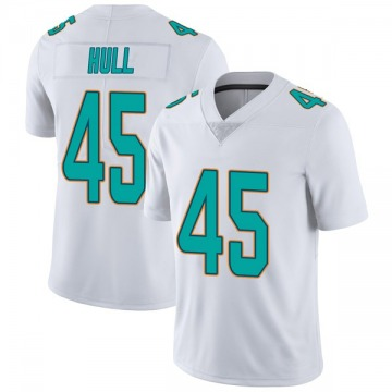 Youth Nike Miami Dolphins Mike Hull White limited Vapor Untouchable Jersey -