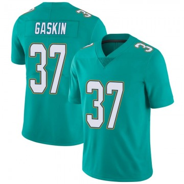 Youth Nike Miami Dolphins Myles Gaskin Aqua Team Color Vapor Untouchable Jersey - Limited