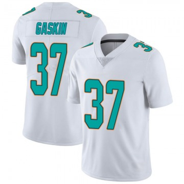 Youth Nike Miami Dolphins Myles Gaskin White limited Vapor Untouchable Jersey -