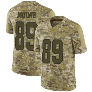 Youth Nike Miami Dolphins Nat Moore Camo 2018 Salute to Service Jersey - Limited