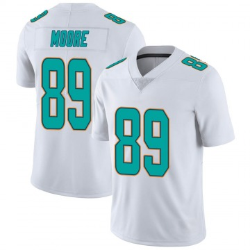 Youth Nike Miami Dolphins Nat Moore White limited Vapor Untouchable Jersey -