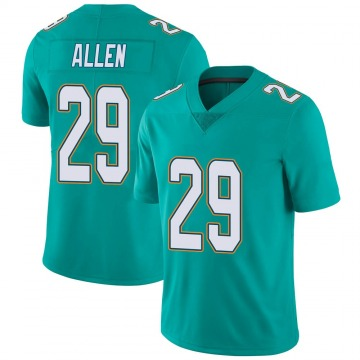 Youth Nike Miami Dolphins Nate Allen Aqua Team Color Vapor Untouchable Jersey - Limited