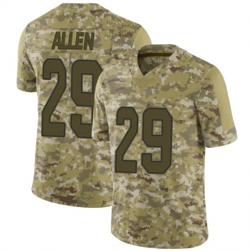 Youth Nike Miami Dolphins Nate Allen Camo 2018 Salute to Service Jersey - Limited