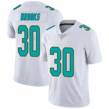 Youth Nike Miami Dolphins Nate Brooks White limited Vapor Untouchable Jersey -