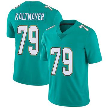 Youth Nike Miami Dolphins Nick Kaltmayer Aqua Team Color Vapor Untouchable Jersey - Limited