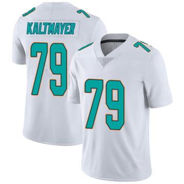 Youth Nike Miami Dolphins Nick Kaltmayer White limited Vapor Untouchable Jersey -