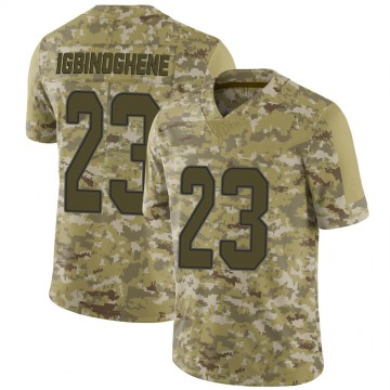 Youth Nike Miami Dolphins Noah Igbinoghene Camo 2018 Salute to Service Jersey - Limited