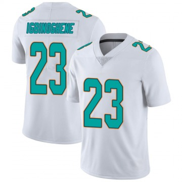 Youth Nike Miami Dolphins Noah Igbinoghene White limited Vapor Untouchable Jersey -