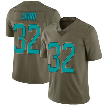 Youth Nike Miami Dolphins Patrick Laird Green 2017 Salute to Service Jersey - Limited