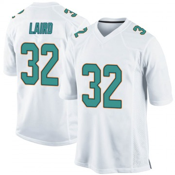 Youth Nike Miami Dolphins Patrick Laird White Jersey - Game